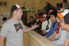 Bud Norris visits Boys & Girls Club #Orioles