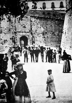 1910 Portal de Ses Taules - Dalt Vila