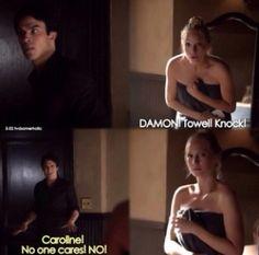 The Vampire Diaries season 5 caroline and damon