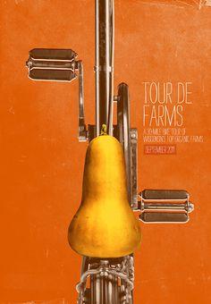 Braise Local Food - Tour de farms, a 30 miles tours of local farms #Advertising #Print