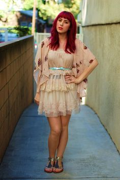 chiffon outfit for summer