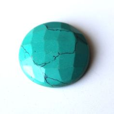Turquoise Cut Green Gemstone Round Shaped Loose Gemstone 21ct 00TC#c Green Gemstones, Loose Gemstones, Turquoise Gemstone, Shapes