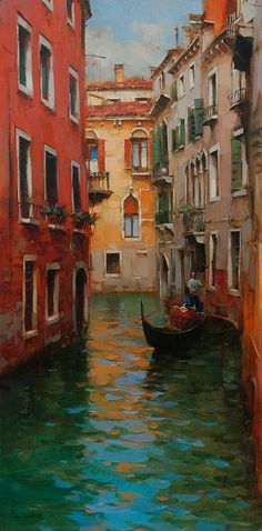 Dmitri Danish Other - Gondolier 40x20