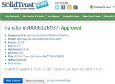 ADCLICKXPRESS – ACX IS AWESOME AND HERE IS MY PAYMENT NO SCAM HERE!! I am setting my proof withdrawal from the money I earned at ACX Making my daily earnings is fun, and makes it a very profitable! Work from home at ACX.