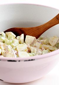 zomerse-appel-salade Clean Recipes, Healthy Recipes, Clean Foods, Summer Recipes, Macaroni And Cheese, Serving Bowls, Salads, Bbq, Good Food
