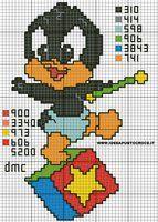 schema baby duffy duck by syra1974