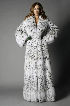 long lynx fur coat #Fashion Passion to Fur world