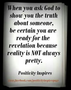The Truth About Someone