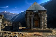 While staying a family in rural Kashmir, I had a chance to visit this 2,000 year old Shiva temple in the Himalayas.