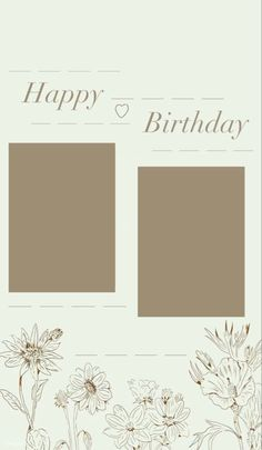 Today Is Your Birthday, Happy Birthday Template, Birthday Post Instagram, Happy Birthday Posters, Instagram Frame Template, Birthday Posts, Summer Aesthetic, Custom Cards, Insta Story