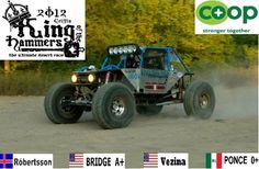 Multiplatform Co-Op Motorsports Team join forces to race the King of the Hammers 2012 USA/MEXICO/ICELAND