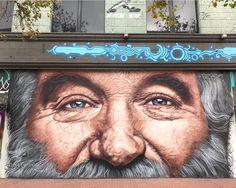 Street Wall Art, Street Art Graffiti, Urban Graffiti, Street Painting, Z Arts, Art Graphique, Banksy, Tag Art, Urban Art