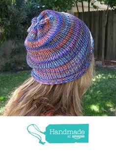 ed05daf7dab from amazon.com · Women s Handmade Unisex Stripped Organic Merino Wool  Slouchy Beanie from MacBeanie https   www