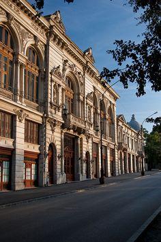 Bragadiru Palace.sec XIX, Bucharest, Romania, www.romaniasfriends.com Beautiful Castles, Beautiful Stories, Beautiful Buildings, The Merchant Of Venice, Romania Travel, Little Paris, Classic Building, Bucharest Romania, Macedonia