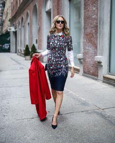 Seasonless Floral Sheath | MEMORANDUM | NYC Fashion & Lifestyle Blog for the Working Girl