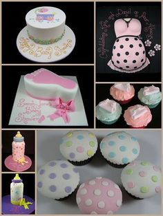 Cupcake Ideas For Baby Shower - Infant Shower Cakes - Guaranteed To Tickle Your Fancy | Shower Ideas
