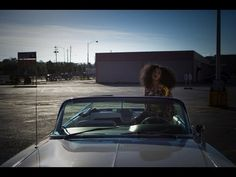 Solange - Lovers In The Parking Lot... I'm fast becoming a HUGE Solange fangirl. Her cool points? #throughtheroof