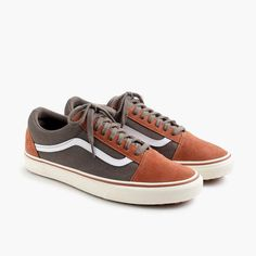d642367fdb2fb1 Crew X Vans Old Skool MTE sneakers in washed canvas at J.Crew and see the  entire selection of Men s Footwear.