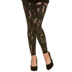 Footlless Zombie Tights  Black footless tights  One size fits most Brand new