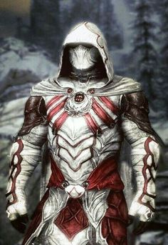 Nightingale armour from elder scrolls V: Skyrim - assassins creed style. Fantasy Armor, Dark Fantasy Art, Final Fantasy, Fantasy Character Design, Character Art, Assassins Creed Kostüm, Ronin Samurai, Knight Armor, Sith Armor