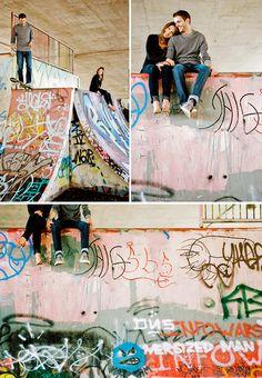 Skateboard Engagement Shoot! Via Braedon's Blog
