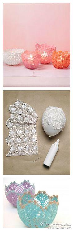 vasinhosa de crochet