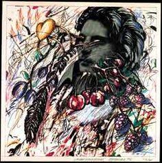 Christian Ludwig Attersee  aus dem Zyklus Gastlichkeitsschachtel  1974, 12x45x45 cm  Lithographien coloriert Bank Austria, Ludwig, Clever, Art, Kunst, Art Background, Performing Arts