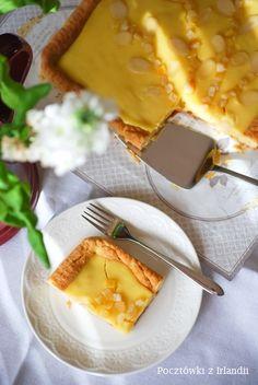 Mazurek cytrynowy – U stóp Benbulbena Ethnic Recipes, Drink, Sweet, Food, Kitchens, Backen, Soda, Meal, Essen