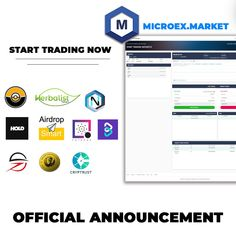 Herbalist Token (@herbalistoken) | Twitter Officially the micro exchange has launched in full, you can make deposit, withdrawal and exchange activities right now. thank you for your support and congratulations on the 10 tokens that have been listed on the MICRO Exchange. Blockchain Technology, Announcement, Congratulations, Product Launch, Activities, Twitter, How To Make