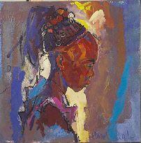 Hazel Lale - African Head