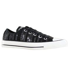 Converse CT Ox Sequins Black Womens Trainers -            Product Description    Converse CT Ox Sequins Black Womens Trainers                                 Textile / Synthetic Upper Textile Lining Synthetic Sole   A breathable beautifully designed canvas upper decorated with seqins. These elegant trainers will keep feet comfortable, while... - http://shoes.goshopinterest.com/womens/athletic/fitness-crosstraining/converse-ct-ox-sequins-black-womens-trainers/