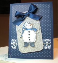 Christmas Tag - Snow Much Fun - Stampin! with Jaydee