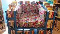 Build the Ultimate Reading Chair with a Built-In Bookcase