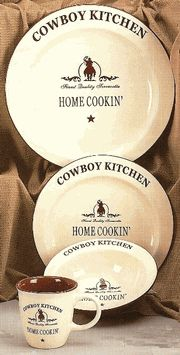 Horse and Rider Dinnerware - Western Decor - I plan on buying this set ) blueydgirl80 | Favorites Products from SaddleOnline.com | Pinterest | Western ... & Horse and Rider Dinnerware - Western Decor - I plan on buying this ...