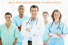 A dentist's inclusion on list is based on the professional judgments of top 10 dentists. Find and compare the 2017 best dentist in Houston, Texas for oral health treatment.  Houston's cosmetic dentistry has a reputation of years of successful dental procedures. These accredited facilities continue to deliver world class service to Houstonians and medical tourists. Here's our top ten cosmetic dentistry list.