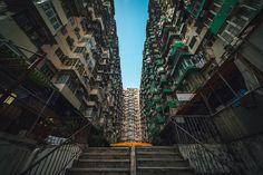 L'ultra densité urbaine à Hong Kong !
