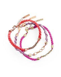 Modern Love Friendship Bracelets - JewelMint. Another DIY