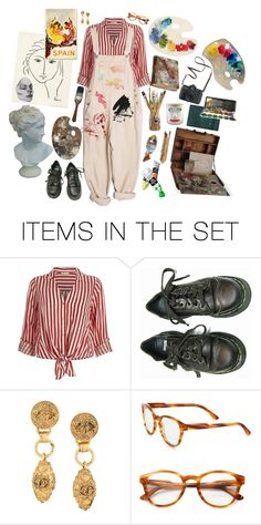 """Artist's Studio"" by artangels ❤ liked on Polyvore featuring art"