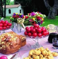 Greek Easter  -  I lived nextdoor to Greeks for 7 years when a child ~~~~~ they were wonderful neighbours and introduced me to their extraordinary foods.