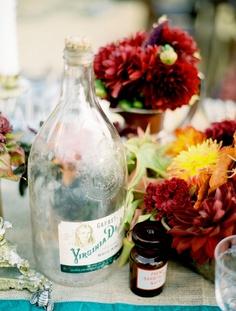 vintage bottles...gorgeous