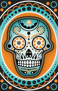 Sugar Skull Art Wallpaper | Sugar Skull2 by blankearthdesign on deviantART