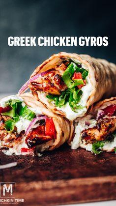 Turkey Wrap Recipes, Dinner Recipes, Taco Ideas For Dinner, Light Dinner Ideas, Pork Recipes, Tostadas, Enchiladas, Empanadas, Greek Recipes
