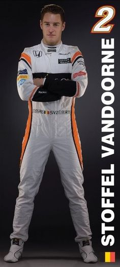 McLaren Honda Formula 1 Team - Stoffel Vandoorne