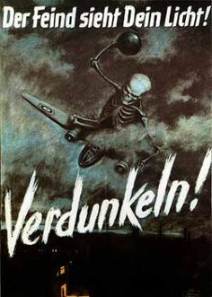 Coincidentally, Verdunkeln are one of my favourite bands, and this poster is awesome!