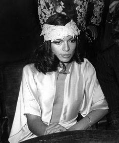 Bianca Jagger in vintage Calvin. 70´s                                                                                                                                                                                 More