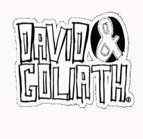ff57892b50d7 David   Goliath. Kat Rose Baldwin · Funky logo design  ...