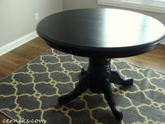 REFINISHED OAK TABLE OFF CRAIGE'S LIST