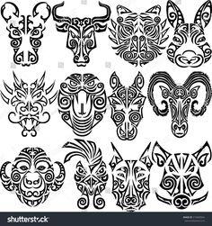 maori tattoos intricate designs for women Maori Tattoos, Maori Face Tattoo, Tattoos Bein, Bull Tattoos, Maori Tattoo Designs, Marquesan Tattoos, Head Tattoos, Hahn Tattoo, Ox Tattoo
