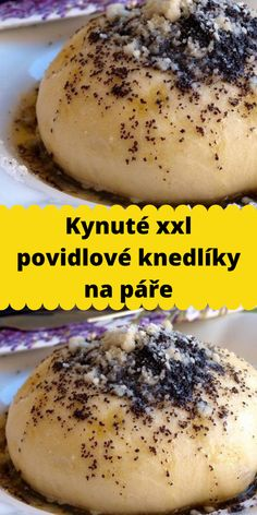 Czech Recipes, Ethnic Recipes, Cheesesteak, Bon Appetit, Hot Dog Buns, Good Food, Food And Drink, Sweets, Bread