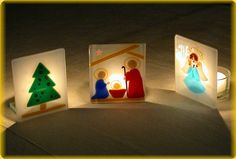 Image detail for -YOU CAN MAKE CANDLE HOLDERS, PINS, SNOW FLAKES OR ORNAMENTS TO HANG.
